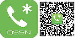 Star phone logo and QR code